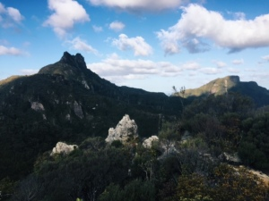 Pinnacles from afar