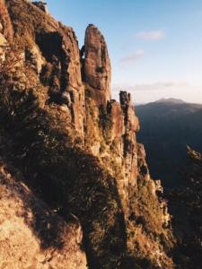 The Pinnacles, up close