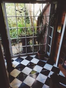 Hallway inside Ingrid's house